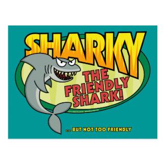 Sharky Postcards