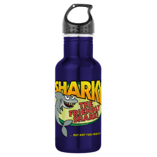 Sharky Stainless Steel Water Bottle