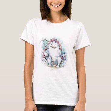 Beach Themed Sharky T-Shirt