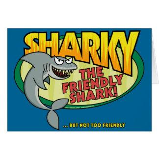 Sharky Tarjeta De Felicitación