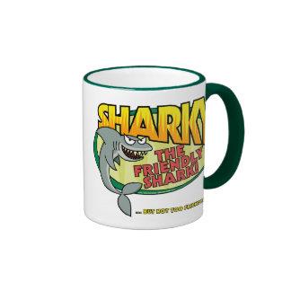 Sharky Taza De Dos Colores