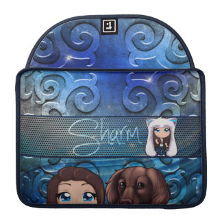 "Sharm Chibi Macbook Pro 13"" Sleeve"