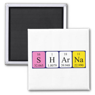 Sharna periodic table name magnet