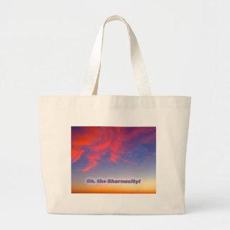 Sharnacity Large Tote Bag