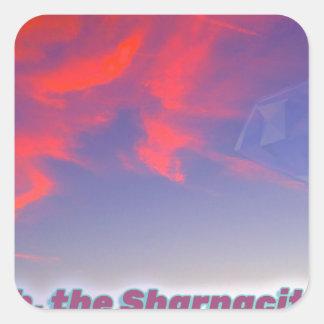 Sharnacity Square Sticker