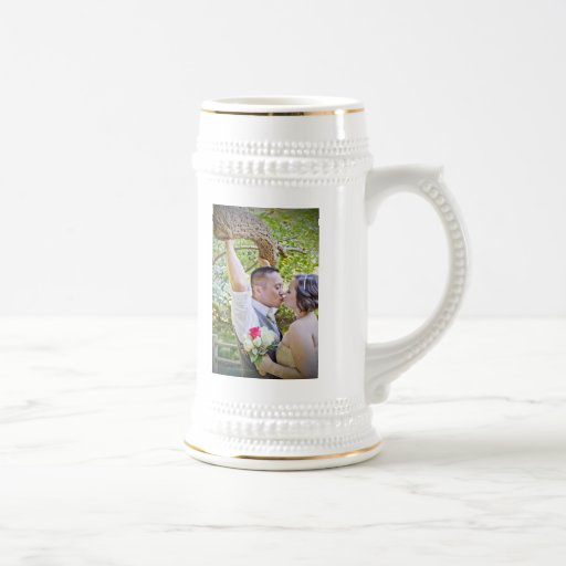 Sharnae + Co's Wedding Beer Stein Mug