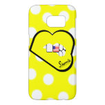 Sharnia's Lips USA Mobile Phone Case (Yl Lips)