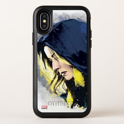 Sharon Carter Painted Graphic OtterBox Symmetry iPhone X Case