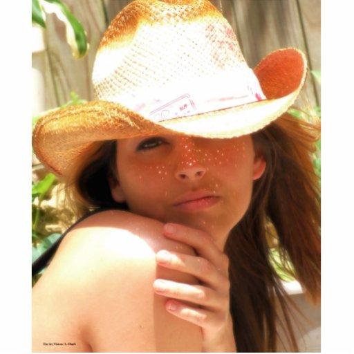 Sharon in Sunlight Photo Sculpture