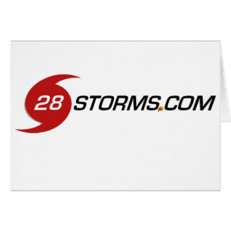 Sharp 28storms.com Logo Card