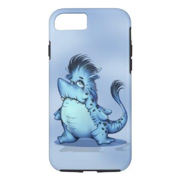 McTiffany Tiffany Aqua SHARP ALIEN CARTOON Apple iPhone 7  TOUGH iPhone 7 Case