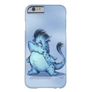 McTiffany Tiffany Aqua SHARP ALIEN CARTOON iPhone 6/6s  BT Barely There iPhone 6 Case