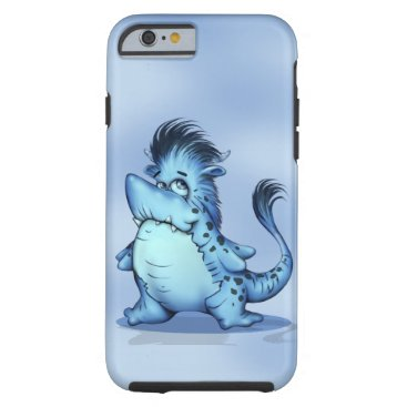 McTiffany Tiffany Aqua SHARP ALIEN CARTOON iPhone 6/6s  TOUGH Tough iPhone 6 Case
