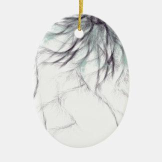 sharp and spiky christmas tree ornament