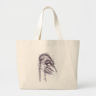 Sharp Angled Figure of Tension Canvas Bag
