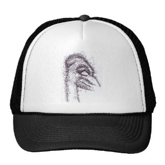 Sharp Angled Figure of Tension Trucker Hat