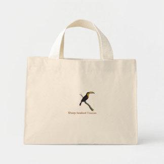 Sharp beaked Toucan bird Tiny Tote Tote Bag