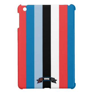 Sharp Color Stripe Pattern iPad Mini Case