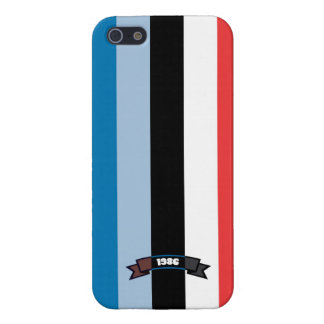 Sharp Color Stripe Pattern iPhone 5 Case