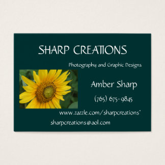 Sharp Creations - Customized Business Card
