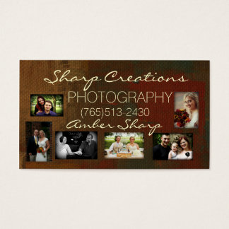 Sharp Creations Photography 2014 Business Card