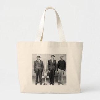 Sharp Dressed Men: 1933 Jumbo Tote Bag