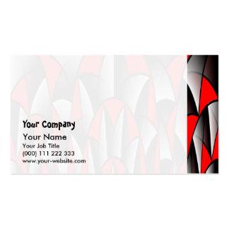 Sharp edges business card