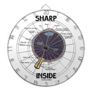 Sharp Eye (I) Inside (Anatomical Eyeball) Dartboard With Darts