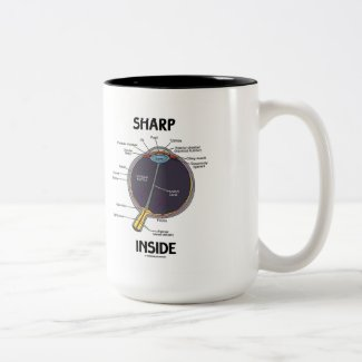 Sharp Eye (I) Inside (Anatomical Eyeball) Mugs