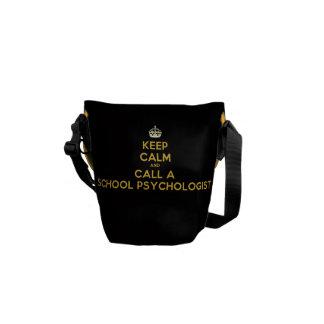 Sharp Messenger Bag for School Psychologist