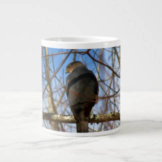 Sharp-Shinned Hawk 20 Oz Large Ceramic Coffee Mug
