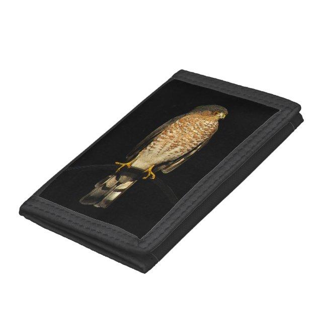Sharp Shinned Hawk Bird Wallet