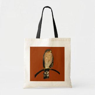 Sharp-Shinned Hawk Budget Tote Bag