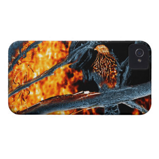 Sharp Shinned Hawk Fire and Ice. (0112) iPhone 4 Case