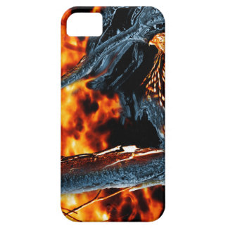 Sharp Shinned Hawk Fire and Ice. (0112) iPhone SE/5/5s Case