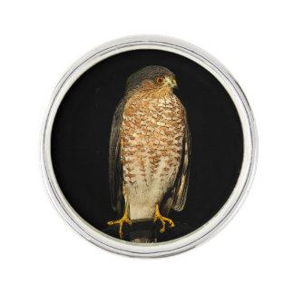 Sharp-Shinned Hawk Lapel Pin