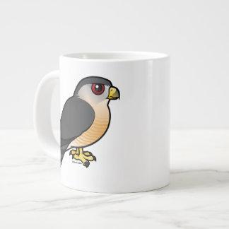 Sharp-shinned Hawk Large Coffee Mug