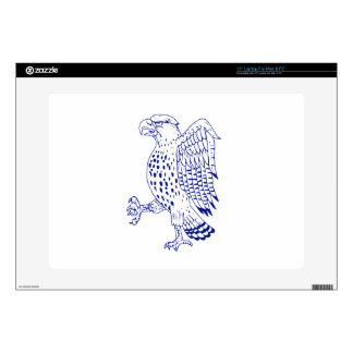 Sharp-shinned Hawk Marching Drawing Decal For Laptop