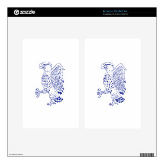 Sharp-shinned Hawk Marching Drawing Decals For Kindle Fire