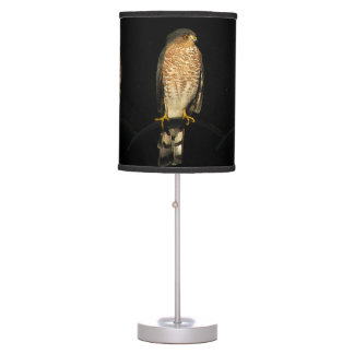 Sharp Shinned Hawk Table Lamp
