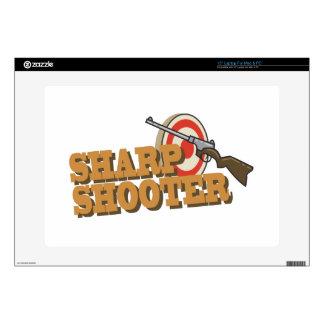 """Sharp Shooter 15"""" Laptop Skin"""