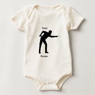 Sharp shooter baby bodysuit