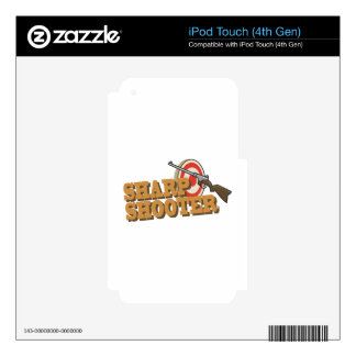 Sharp Shooter iPod Touch 4G Skin