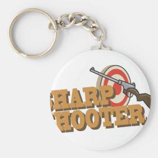 Sharp Shooter Keychain