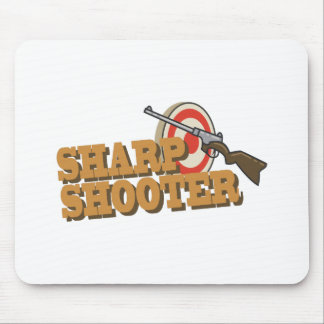 Sharp Shooter Mouse Pad
