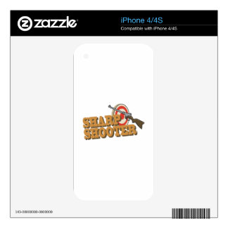 Sharp Shooter Skin For iPhone 4