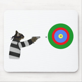Sharp Shooting Tom Cat Mouse Pad