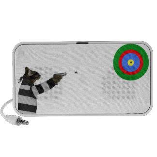 Sharp Shooting Tom Cat Notebook Speaker