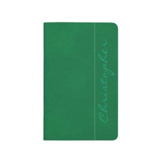 * Sharp Signature Mottled Hunter Green Journal