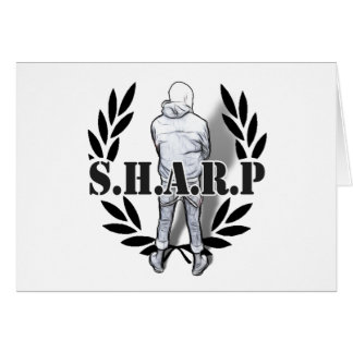 sharp skin standing card